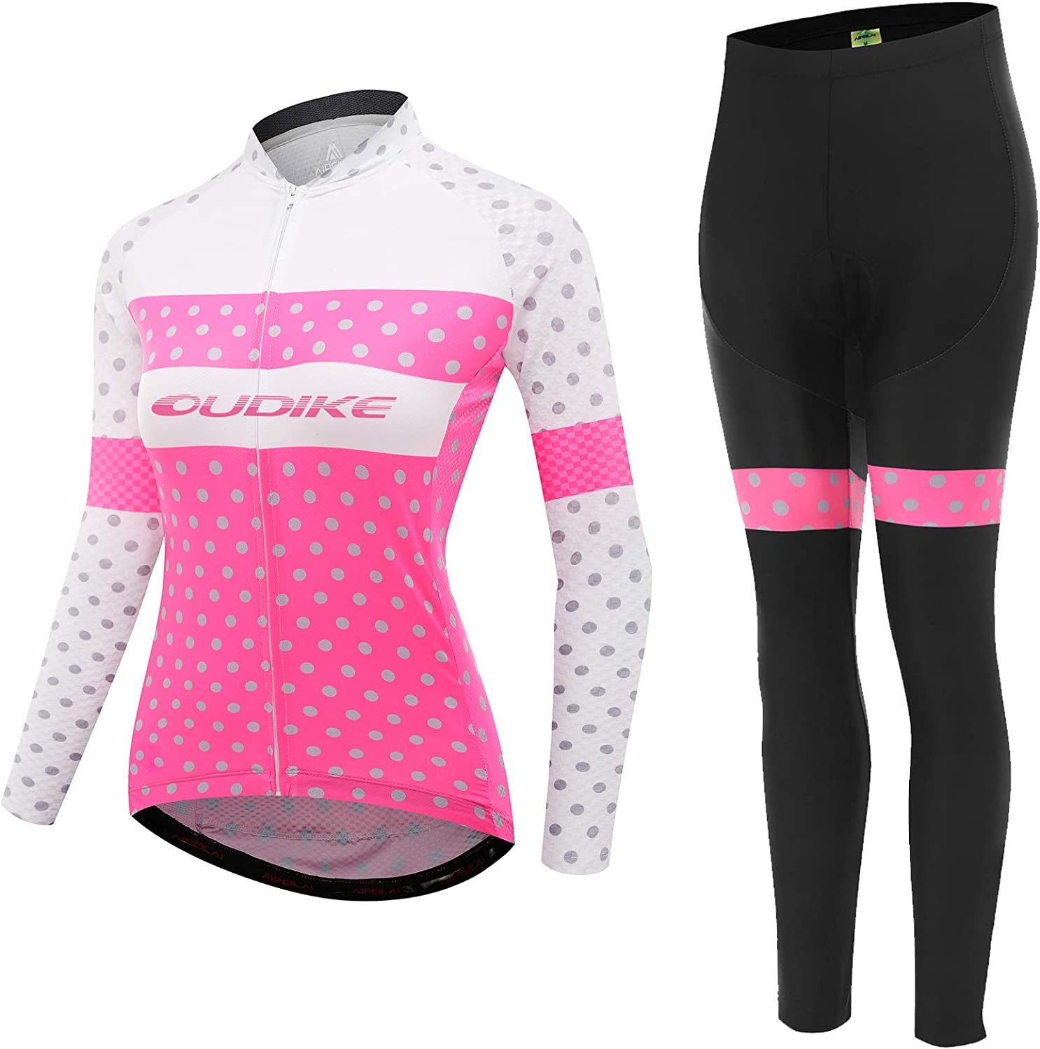 Cycling Jersey Women Long Sleeve Jerse Set Bike Our shop OFFers the best service Clothing Bicycle Regular discount