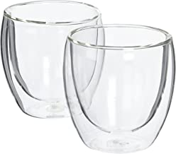 Bodum 4558-10US4 PAVINA Double Wall Glass, 0.25L, Set of 2
