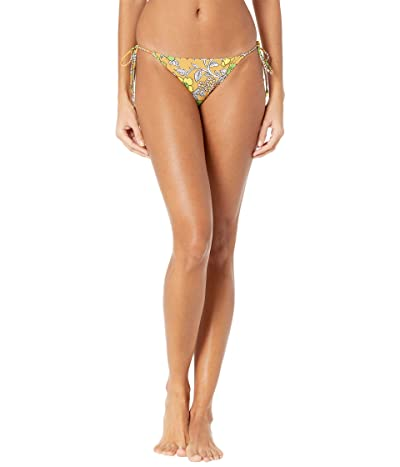Tory Burch Swimwear Printed String Bottoms (Brown Wallpaper Floral) Women