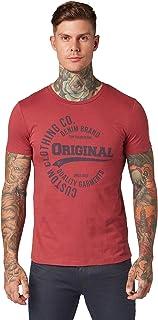 TOM TAILOR Denim Print Camiseta para Hombre