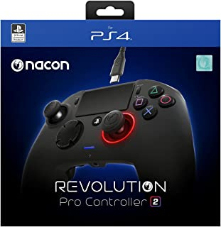 NACON Revolution Pro Controller V2 [Wired] Gamepad PS4/PC Playstation 4 eSports Fighting Customisable