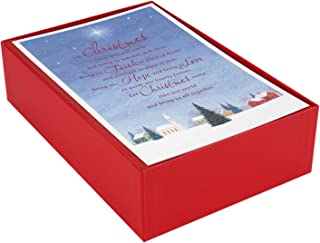 christmas cards box of 50