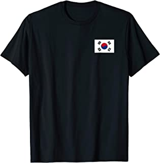 Korean Flag Heart T-shirt