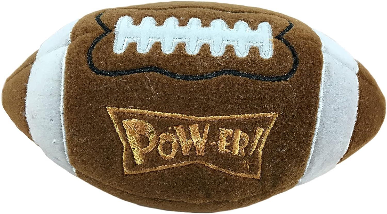 Lulubelles Power Plush Football Dog Toy - Large