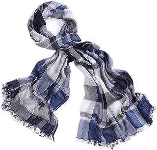 Lower East Sciarpa in maglia da uomo a coste larghe