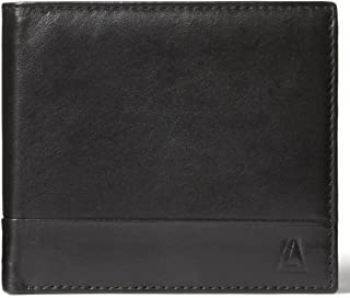 Leather Architect Men's 100% Leather Classic Bifold RFID Blocking Wallet