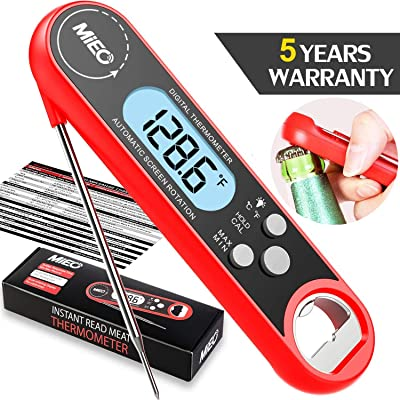 Digital Instant Read Meat Thermometer - MIEO Be...
