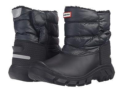 Hunter Kids Original Snow Boots (Little Kid/Big Kid) (Black) Kid