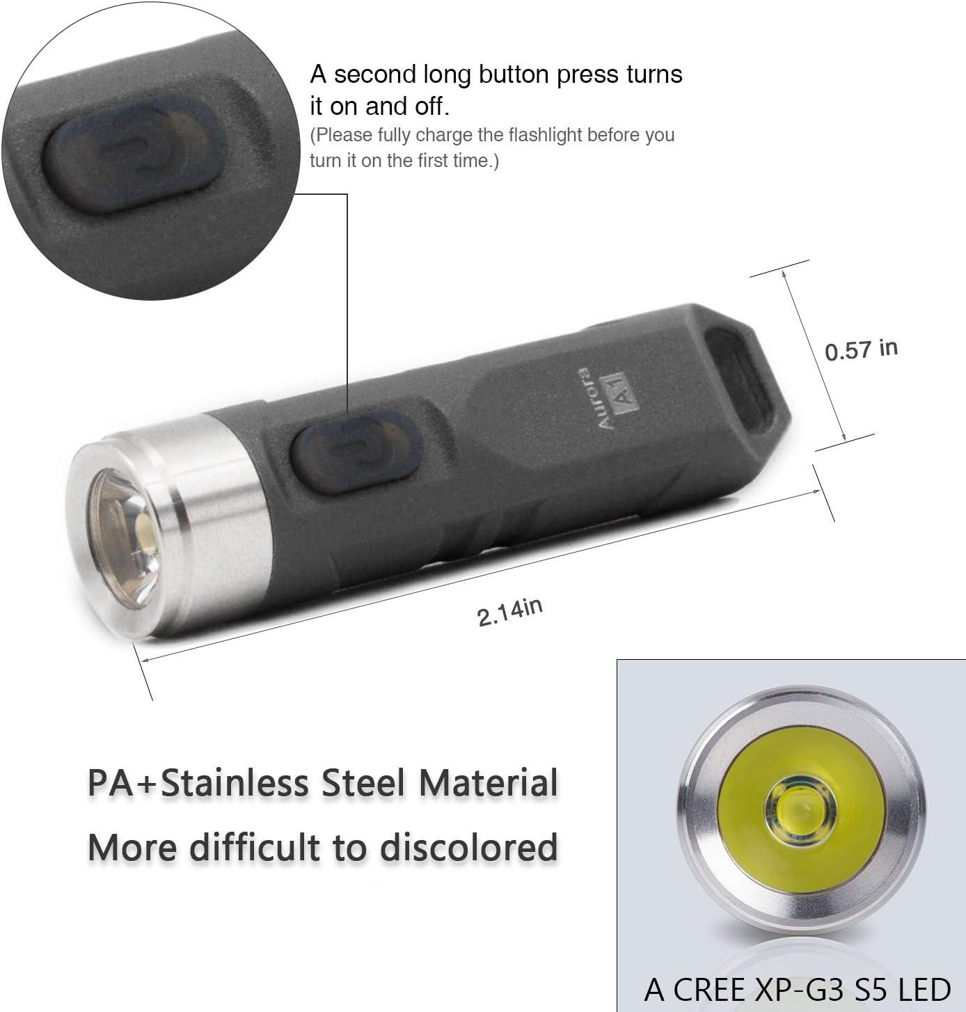 550 Lumens Outdoor Mini Edc Rechargeable High Brig Rovyvon Aurora Luminous Body