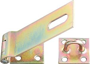 GAH-Alberts 348373 veiligheidssluiting | elektrolytisch geel verzinkt | lengte sluiting 153 mm | breedte 50 mm