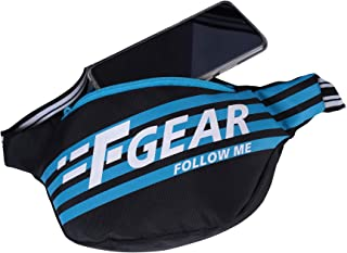 F Gear Enzo Sports Waist Bag (.Black Blue)