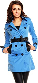 L'Olive Verte Sexy Women's Elegant Coat Ladies Casual Jacket Everyday Overcoat Size 6, 8, 10, 12 US