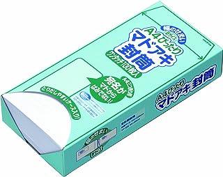 オキナ A4ぴったりマドアキ封筒 ホワイト WT30WH 100枚入