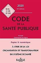 Livres Code de la santé publique 2020, annoté commenté en ligne - 34e ed. PDF