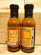 Southern Soul Barbeque BBQ Sauce - Award Winning BBQ Sauce from the South`s Best BBQ (Sweet Georgia Soul, Two 14oz Bottles)
