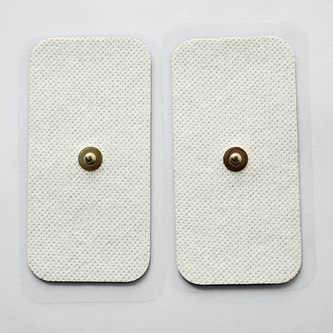 代わって全員スロープKonmed 粘着パッド 低周波用 電極パッド 20ペア/40枚入り, 角形5cm*10cm