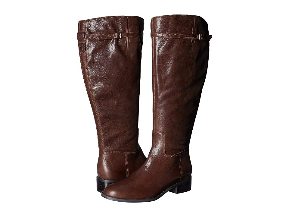 Franco Sarto Belaire Wide Calf (Brown) Women