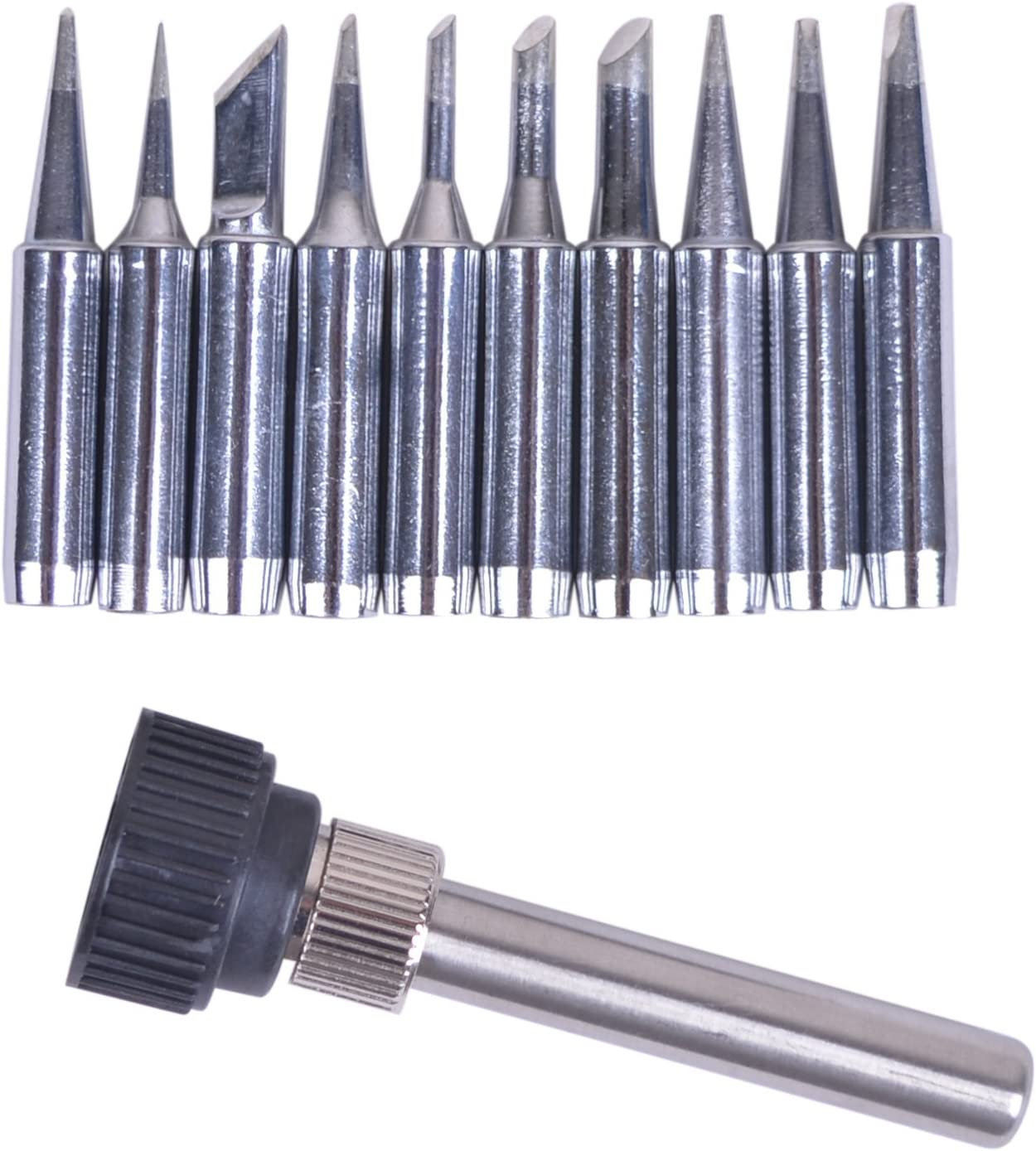 Bleiou 10pcs+Iron Free shipping anywhere in the nation casing lot Lead-free All items free shipping Tip F Solder 900M-T Iron