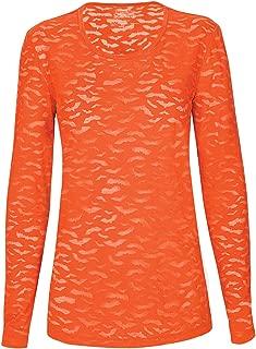 Cherokee Workwear Women's Long Sleeve Underscrub Knit Tee,4882