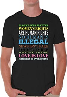 Awkward Styles Men's Kindness is Everything Love T Shirt Tops Manifest Your Values