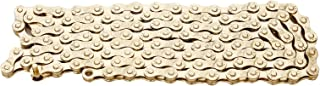 ZHIQIU FSC 6,7,8 Speed 116L Bicycle Chains, Silver,Gold (1/2x3/32-Inch)