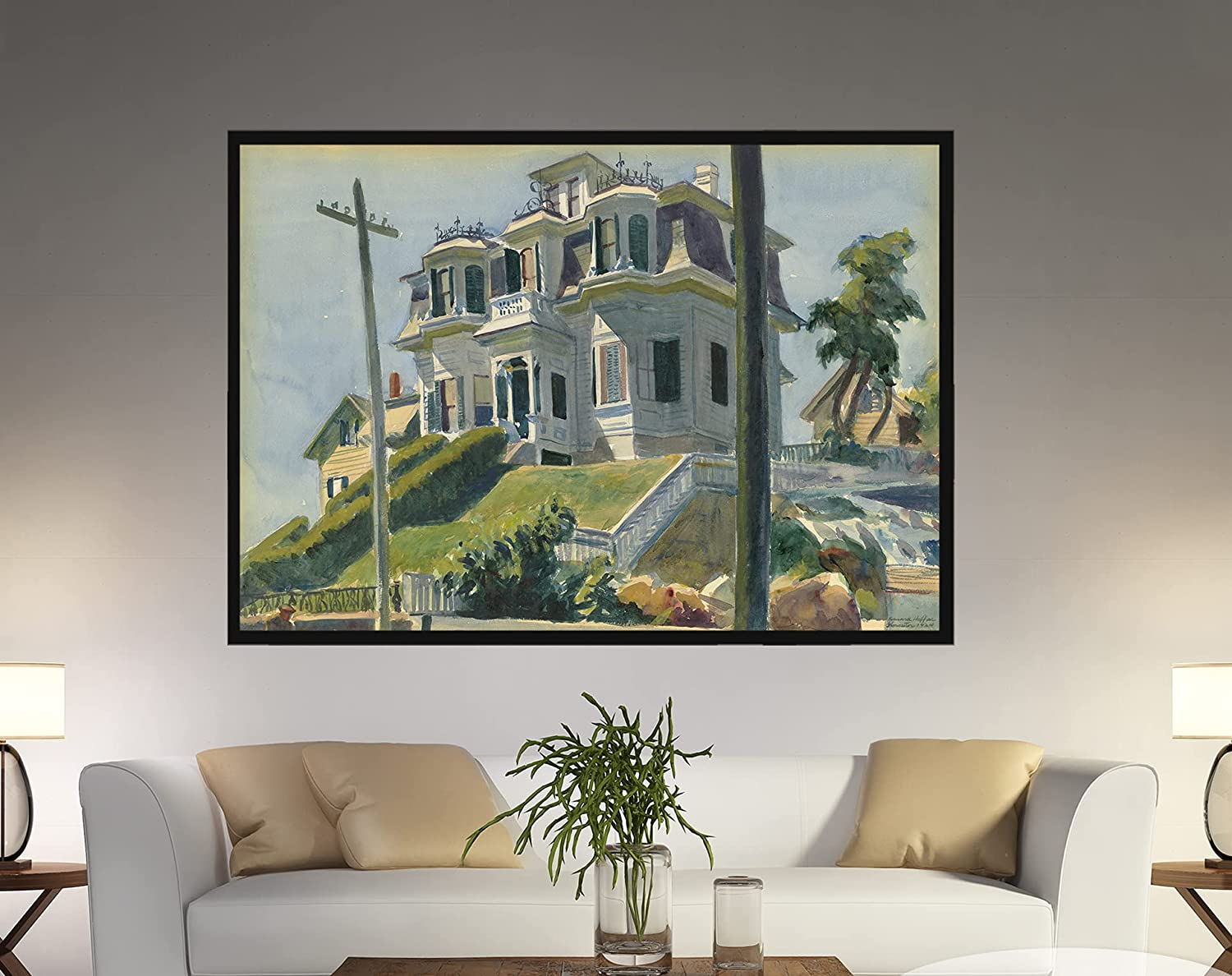 Edward Hopper Beauty products Haskell's House Print Cheap mail order specialty store Hooper Hopp