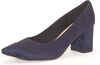 Hype Women's Navy Blue Pointed Toe Belly ZD10368 (Oraz)