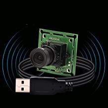 0.3MP Super Mini VGA USB Camera Module with 3.6mm Lens,Webcam USB with Cameras for Android Windows Linux,Free Driver UVC W...