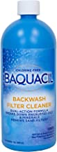 Baquacil 84329 Backwash Filter Cleaner Swimming Pool Chemical, Support Products, Clear