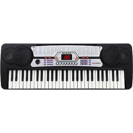 McGrey BK-5410 - Teclado con 54 teclas, micrófono y soporte para notas