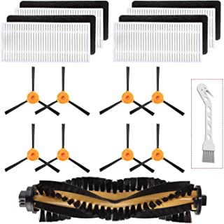 Mochenli Replacement Parts Accessories for Ecovacs DEEBOT N79 N79s Robotic Vacuum Cleanr,8 Side Brushes,4 Filter,1 Main Brushes, Accessories Replacment Parts Kit