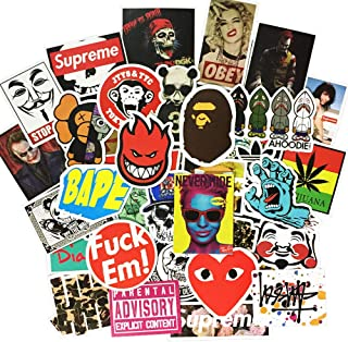 Beyong Teens Cool Decals and Stickers for Laptop Computer Skateboard Motorcycle Luggage Bike Bicycle Phone (Fashion Stickers 100Pcs)