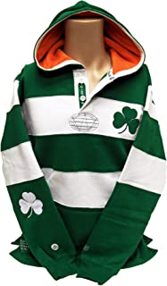 Donegal Bay Ireland Rugby Shirt Hoodie