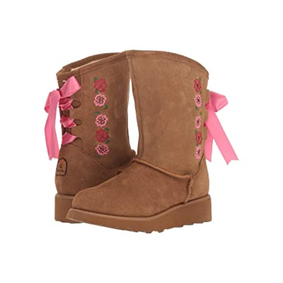 Bearpaw Kids Carly (Little Kid/Big Kid) (Hickory) Girls Shoes