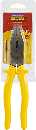 Tramontina 41001108, Alicate Universal 8'', Amarelo