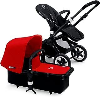 Bugaboo Buffalo Black Frame Stroller (Red)