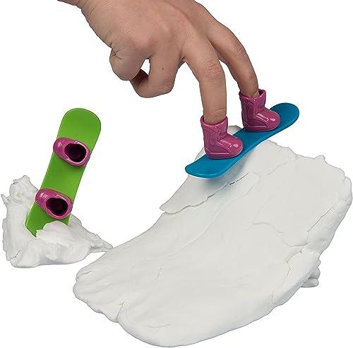 ventas en linea Floof Interno reutilizable arcilla de modelado para construir construir construir su propio Snowboard snowpark con 2 incluye tablas de snowboard  comprar barato