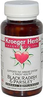 Kroeger Herb Co, Black Radish & Parsley, 100 Veggie Caps