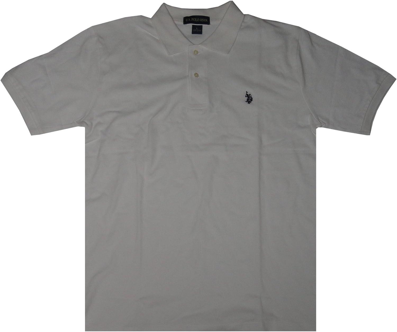 U.S. Polo Assn. Men's Pullover Shirt, White