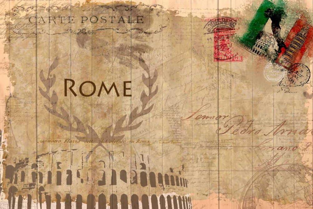 Posterazzi Bombing free shipping PDXKARC010DLARGE Postcard Popular product Rome Photo Print 24 x 36