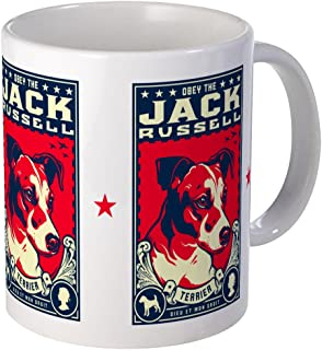 CafePress Obey The Jack Russell Terrier! Mug Unique Coffee Mug, Coffee Cup