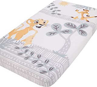 Best Disney Lion King - Gold, Teal & Ivory Photo Op Fitted Crib Sheet, Gold, Aqua, White, Lion King - Gold, Teal and Ivory Review