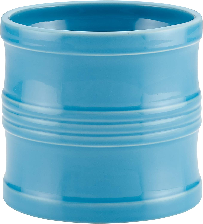 Circulon Ceramics Tool Crock Utensils Inch Free Shipping Cheap Bargain Gift Blue 7.5 Large special price -