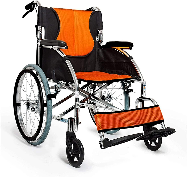 Folding wheelchair Self-propelled Alumin Oakland Mall Dedication Wheelchairs-lightweight