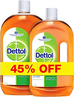 Dettol Antiseptic Disinfectant Liquid Cleaner - 2 Liter + 1 Liter