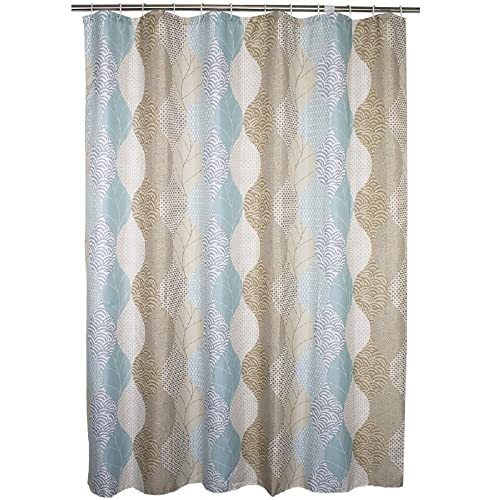Ufaitheart Abstract Leaves Pattern 48 X 72 Shower Curtain Stall Size Fabric