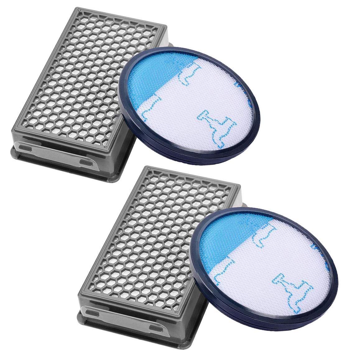 Awinker 2 Filtro de Espuma y 2 Filtro HEPA para Aspiradoras ...