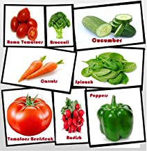 Heirloom Vegetable Seeds - Full Size Seed Packs-Non GMO- Easy to Grow - Variety of The Most Popular Vegetable Seeds in Zipper Mylar Bag-Vegetable Seeds for Planting-Garden Seeds, Full Size Seed Packs