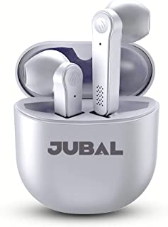 JUBAL - T8 True Wireless Bluetooth Earbuds with Touch Control, for Video Conference Calls, Dual Mode, Light & Comfortable ...
