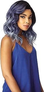 Sensationnel Shear Muse 100% Premium Fiber Deep Hand-Tied Empress Lace Parting Wig - ZION (1B)